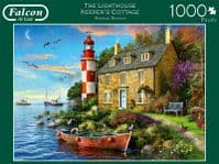 The Lighthouse Keeper's Cottage - 1000 Pieces Falcon Jigsaws